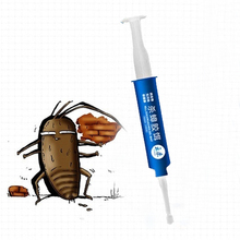 New 1 Pcs High Quality Strength Drugs Kill Cockroach Medicine Gel Bait Trap Nontoxic Effects Insecticide Spraying Pest Control(China)