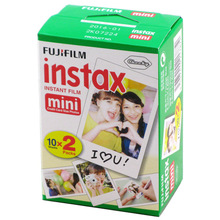 40 Sheets/2 Box Fujifilm Instax Mini 8 Film Instant White Edge Photo Paper 3 Inch Wide for Fuji Instax Mini8 7s 25 50s 90 camera