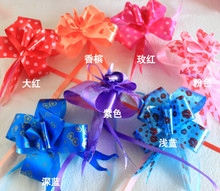 50pcs color hand garland gift basket packaging fireworks festive wedding car decoration flower(China)