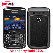 Unlocked BlackBerry Bold 9700 Original BlackBerry Mobile Phone 3G Smartphone 3.2MP Camera Quad-Band GPS WIFI BlackBerry 9700