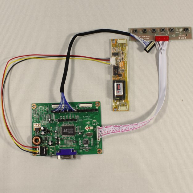 VGA Lcd controller board work for 8.4inch AA084VC03 640x480 Lcd Panel<br>
