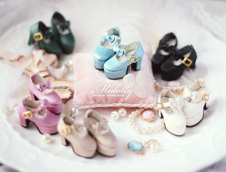 Free shipping High quality Handmade High heels Doll shoes,doll accessories for blythe Azone momoko Lati JerryB licca gift toys<br>