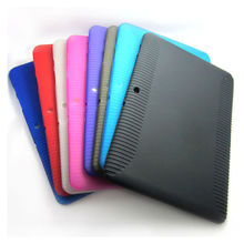 Soft TPU Silicone Rubber Protective Skin Case Cover For Samsung Galaxy Tab 2 10.1 inch P5100 P5110 P7500 P7510 Tablet M3D088d(China)