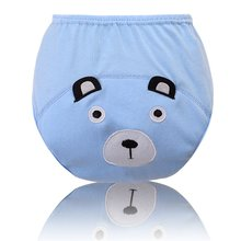 Pro Cotton Infant Baby Diapers Training Study Pants Reusable Nappy Breathable Underwear 0-3Y LM75(China)