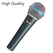 High Quality Beta 58a Vocal Karaoke Handheld Dynamic Wired Microphone Microfone Mike Beta 58 A Mic(China)