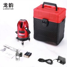 635nm 5lines 6points laser line cross line laser rotary laser level selfing leveling 360degree multifunction Outdoor Receiver(China)