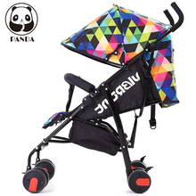 Small Folding Stroller Light Kids Travel Tray Child Bicycle Umbrella Stroller Baby Stars New Baby Buggies European Baby Prams