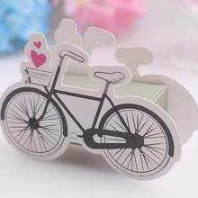 100 Pcs/lot Cute Creative Bicycle Candy Gift Boxes Bonbonniere Wedding Birthday Party Candies Sweet Jewelry Decorations Box Bag