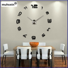 e Home Decor Decoration Living room Watches Fashion Brief Quartz Clock Large Clocks 2017 New Silent Wall Clock Saat Classic Styl