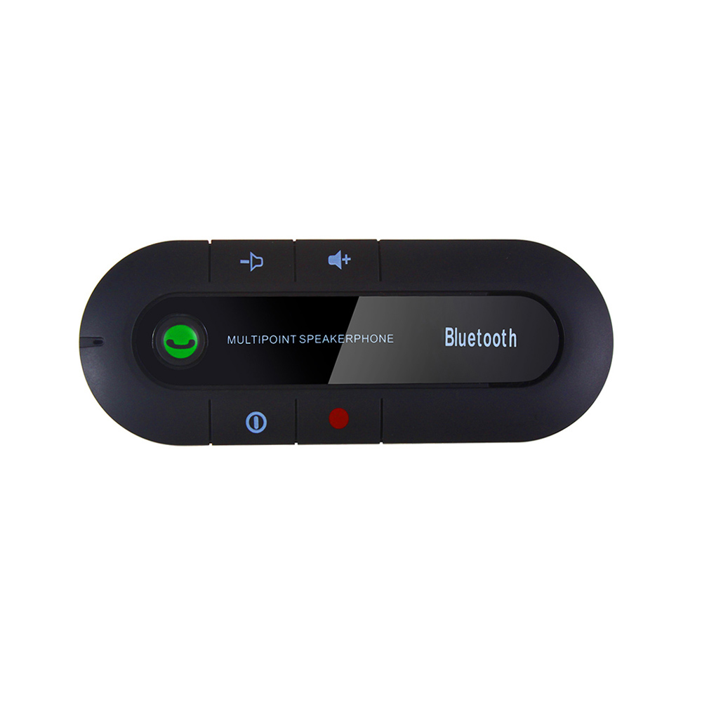 Sun Visor Bluetooth Speakerphone MP3 Music Player Wireless Bluetooth Handsfree Car Kit Bluetooth Receiver Speaker Car Charger(China (Mainland))