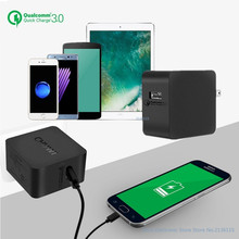 CHUWI A 100 Qualcomm QC 3.0 Power Dock USB Wall Charger Adapter Quick Charge 5V 3A, 9V 2A, 12V 1.5A Output For Phone Tablet
