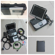 Hot sales mb star diagnosis compact 5(12v+24v) Diagnostic tool+ 2017.07v ssd super speed+ touch screen toughbook cf-19 full set