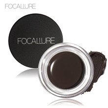 [Rosalind Beauty]Focallure 5 Color Eyebrow gel Quick Dry Eyebrow Cream with A Brush Long-wearing Eyes Makeup Cosmetic Maquiagem