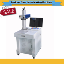 New CNC Desktop Fiber Laser Marking Machine 20W with 150*150mm working size fiber laser(China)
