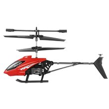 Mini RC Helicopter Electric Flying Toys 2CH Toys Remote Control Quadcopter Drone Radio Gyro Aircraft Streamline Kids Toys XY802(China)