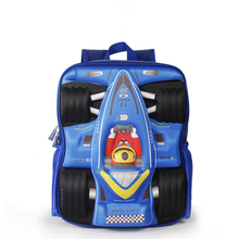 13 inch 4colors 3D car design children's school backpacks, kindergarten kids' shoulder bags,preschool schoolbags back to school(China)