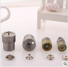 201 metal snap button hand mould 15mm press stud button die set overcoat button mould