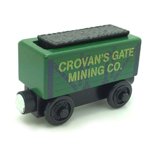 W59 RARE Crovan's Gate Mining Co Green coal mine Thomas And Friends Wooden Magnetic Railway Train Model Engine track Toy(China)