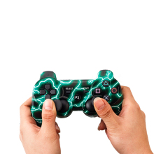 Hot Lightning Gamepad Agile Controller PS3 High Texture Easy And Convenient To Use Computer Peripherals