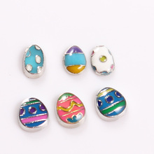 Buy 2017 New Easter Eggs Floating Charms Enamel Charms Fit Glass Living Memory Floating Lockets 30pcs/lot for $5.99 in AliExpress store