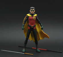 Batman Justice League DC Wayne Enterprise Damian as Robin Loose Action Figure(China)