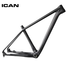 ICAN 29ER carbon frame mtb mountain bike 142x12 135x9 UD-matt mtb carbon frame 29er BB92 bottom bracket bicycle frame X6