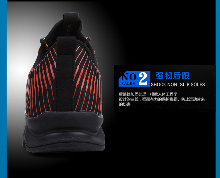 17New Hot Light Running Shoes For Men Breathable Outdoor Sport Shoes Summer Cushioning Male Shockproof Sole Athletic Sneakers 11