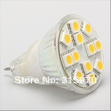 MR11 LED Dimmable Bulb 12led SMD AC/DC 12-24V  Display Artwork Lighting 1pcs/lot Super Bright Good to use everywhere