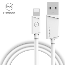 Mcdodo for Lightning to USB Cable for iPhone 7 Plus 6 6s 5s Fast Charging 2A white black 1m 3.2ft Mobile Phone Cable(China)