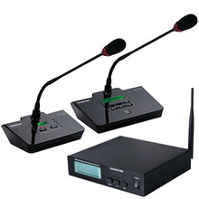 Top Quality Takstar DG-C100 Table Conference Microphone System site meeting microphone 2.4G Digital Wireless Conference System