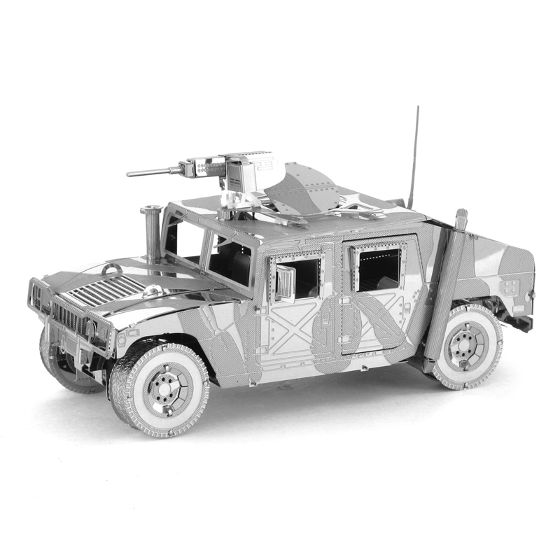 1908 Ford Model 3D Metal Puzzle DIY Assembly Hummer Car Toys Brain Game Toys For Children Educational Adult Creative Puzzle toy