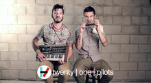 "Twenty One Pilots Music Band Group Fabric poster  43"" x 24""  21"" x 13""  Decor -02"
