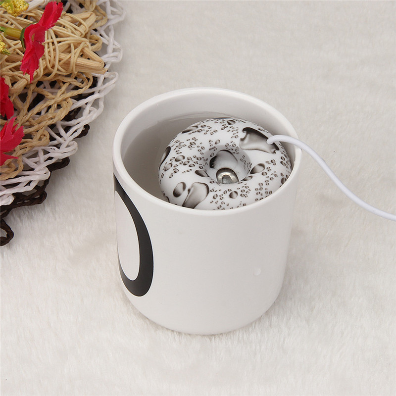 High Quality mini umidificador usb humidifier freshener Home Office Mini USB Donuts Humidifier Floats On The Water Air Fresher