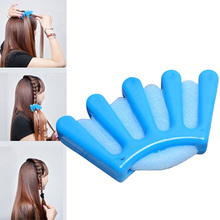 1Pc Plastic DIY Hair Sponge Styling Braiding Hair Braiding Twist Machine Weave Braids Hair Braider Hairdo Hair Styling Tools(China)