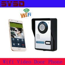 SYSD Video Door Phone WiFi Doorbell Remote Video Camera Rainproof Video Intercom Camera Remote Network Home Building(China)
