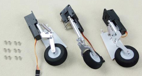 Landing Gear Set Freewing 80mm F-5N RC Plane Model FJ20811 08