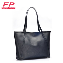 2016 Fashion Big Bags All-match PU Leather Women's Handbag Large Capacity Women Tote Bag Black Red Shoulder Bags Cheap Hand bag