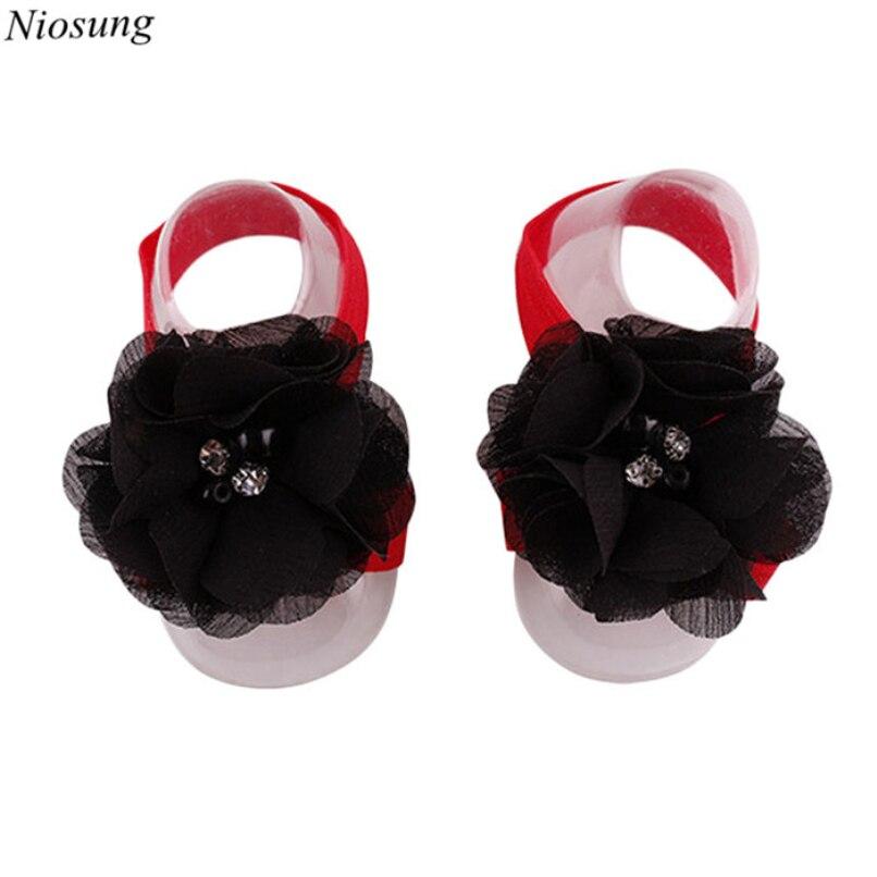 Fashion Baby Infant Soft Handmade Flowers Snow Imitation Pearl Diamond Buckle Foot Flower Kids Gift wholesale<br><br>Aliexpress