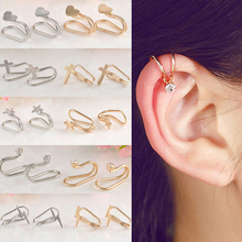 LNRRABC New Non Piercing Cartilage Earrings Ear Cuff Earrings Ear Wrap Ear Clip Jewelry Gift