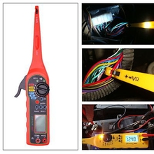 2016 NEW Multi-function Auto Circuit Tester Multimeter Lamp Car Repair Automotive Electrical Multimeter Diagnostic Tool(China)