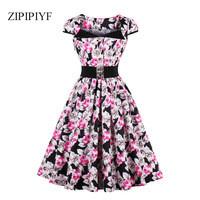 ZIPIPIYF-Women-Vintage-Dress-Retro-50s-Short-sleeve-lapel-Summer-Dress-Elegant-Female-Slim-Pleated.jpg_200x200