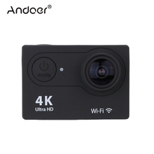 "Andoer 2.0"" LCD Action Camera 4K Camera Full HD 1080P APP Wifi Sport Camera DV  Wide Angle Lens Camcorder with Remote Watch"
