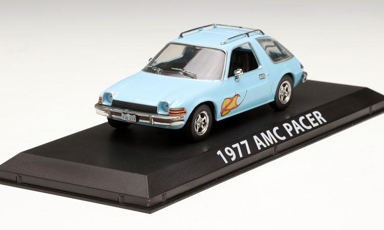 Rare Model GreenLight 1:43 1977 AMC Pacer blue alloy car models Favorites Model<br><br>Aliexpress