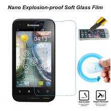 Hight Quality Nano Explosion-proof Soft Glass Protective Film Screen Protector for Lenovo A660 Protective Film(China)