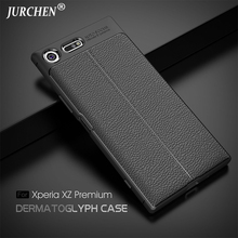 Buy JURCHEN Case Sony Xperia XZ Premium Case Fashion Silicone Soft Back Cover Phone Case Sony Xperia XZ Premium Cover Coque for $3.60 in AliExpress store