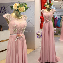 Real Sample Photo Stretchy Sparkly Fabric Lace Cap Sleeve Prom Dresses Crystal Beaded Long Formal Gown vestidos de gala