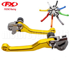 Buy FXCNC Dirt Bike Motocross Foldable Brake Clutch Levers KTM 450XC 2006-2007 Pitbike Levers Brake Clutch Handle 2006 2007 for $23.13 in AliExpress store
