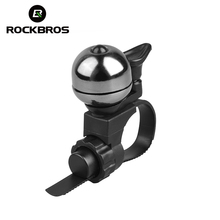 RockBros Cycling Riding Safe Security Handlebar Bell Horns Ring Crisp Ringing Mechanical Bell Bike Bicycle Ordinary Copper Bells(China)