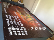 CUSTOM  Vinyl Indoor & Outdoor Banner