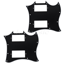 2*guitar Pickguard Scratch Plate 3ply 2Pickup for Gibson SG Guitar replacement
